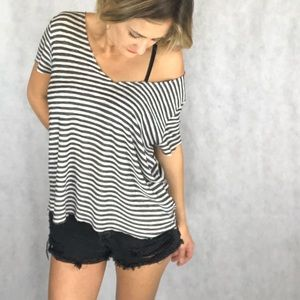 Tops - UO project social striped tee
